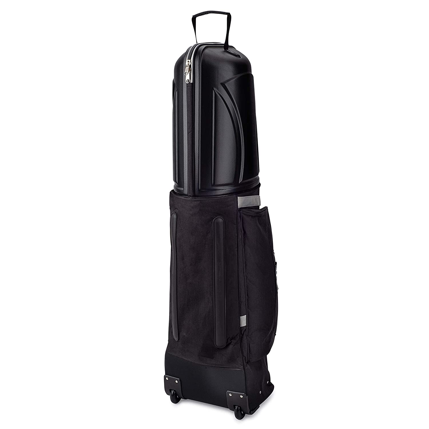 Founders Club Golf Travel Cover Luggage for Golf Clubs with ABS Hard Shell Top Travel Bag