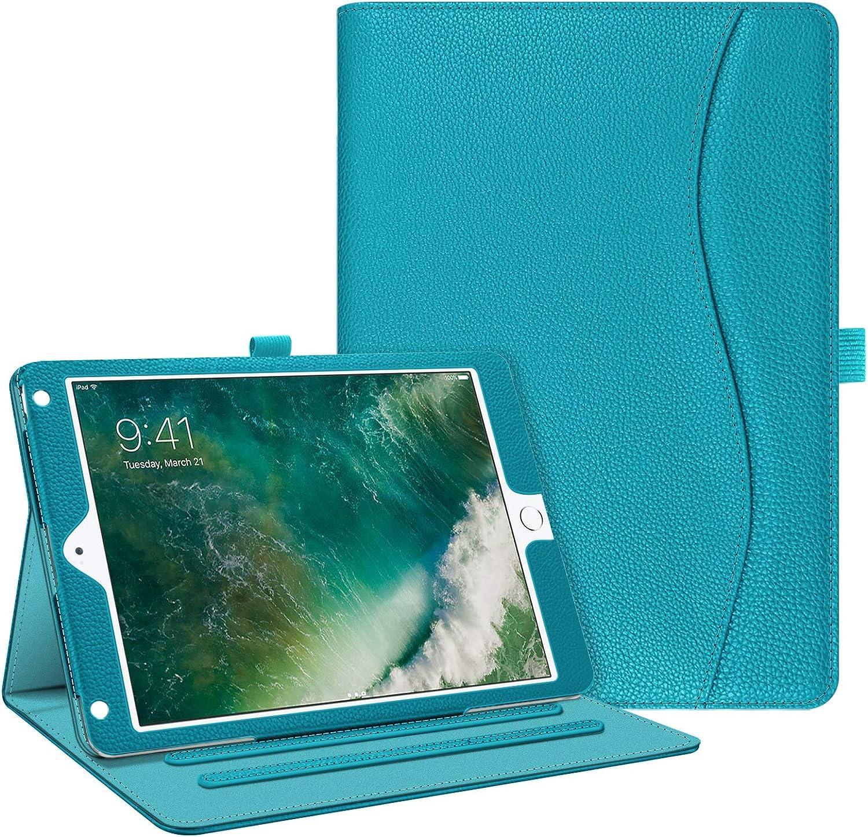Fintie Case for iPad 9.7 2018 2017 / iPad Air 2 / iPad Air - [Corner Protection] Multi-Angle Viewing Folio Cover w/Pocket, Auto Wake/Sleep for iPad 6th / 5th Gen, iPad Air 1/2, Legacy Teal