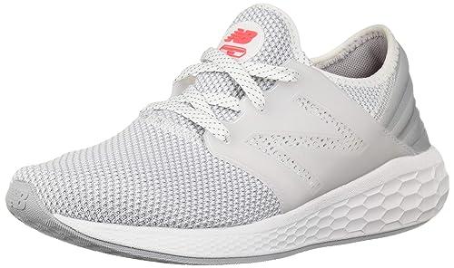 555d221453c06 New Balance Women's Fresh Foam Cruz v1 Running-Shoes, White/White, 5