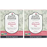 Organic Milkmaid Tea by Earth Mama | Supports Healthy Breastmilk Production and Lactation, Herbal Breastfeeding Tea…