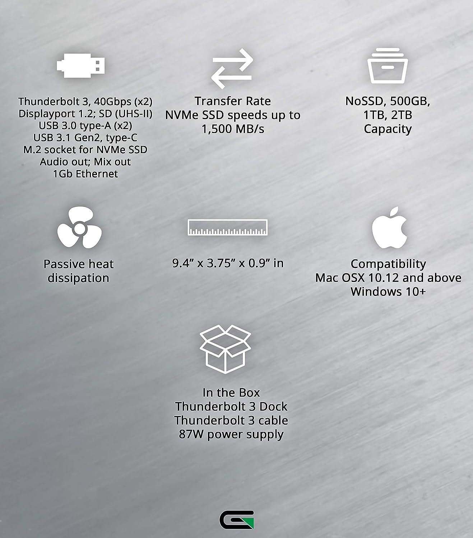 2TB Glyph Thunderbolt 3 NVMe Dock