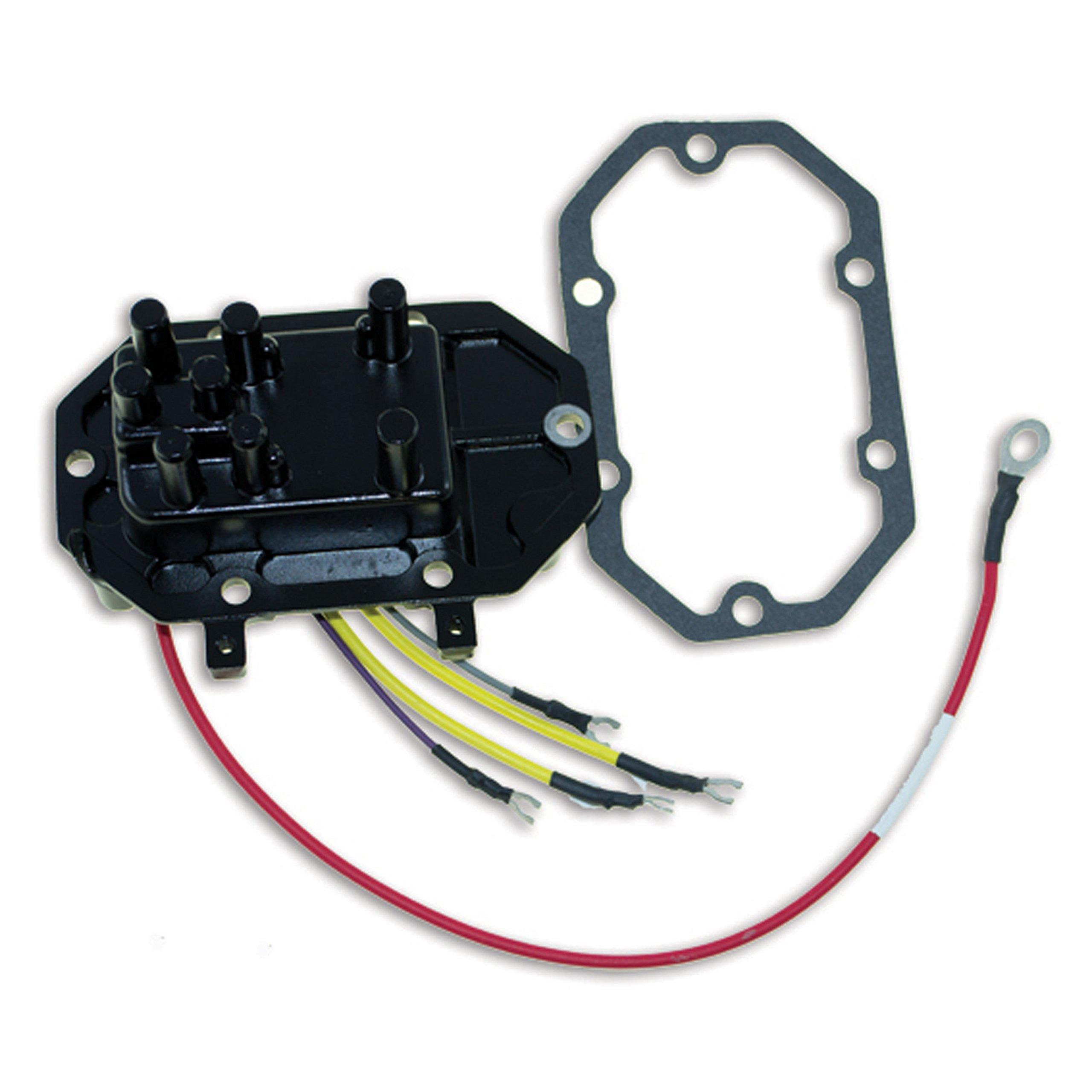 CDI Electronics 193-3689 Johnson/Evinrude Voltage Regulator - 6/8 Cyl. 35 Amp (1985-1992)