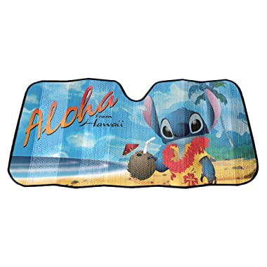 Disney's Lilo and Stitch Accordion Sun Shade Universal Bubble