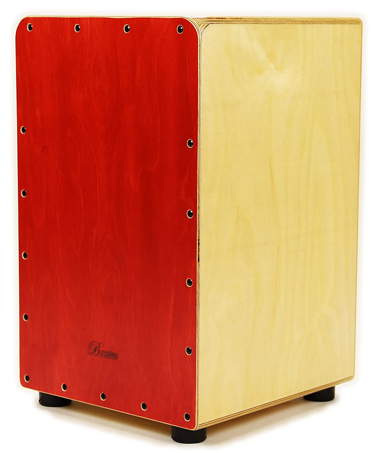 Barcelona Birchwood Cajon - Red CAJ-50M-RD