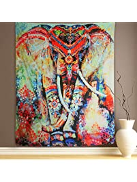 Wall Hanging Tapestry Elephant Tapestry Mandala Tapestry Bohemian Tapestry  Wall Tapestry Hippie Tapestry Beach Tapestry Indian Part 81