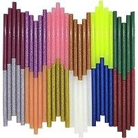 Glitter Hot Melt Lijm Sticks, VARACL Kids Mini Gekleurde Hot Glue Gun Sticks voor Kunstambachten, DIY, Home Algemene…