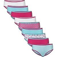Gildan Girls Cotton Hipster Underwear, 9 Pack Underwear - Multi
