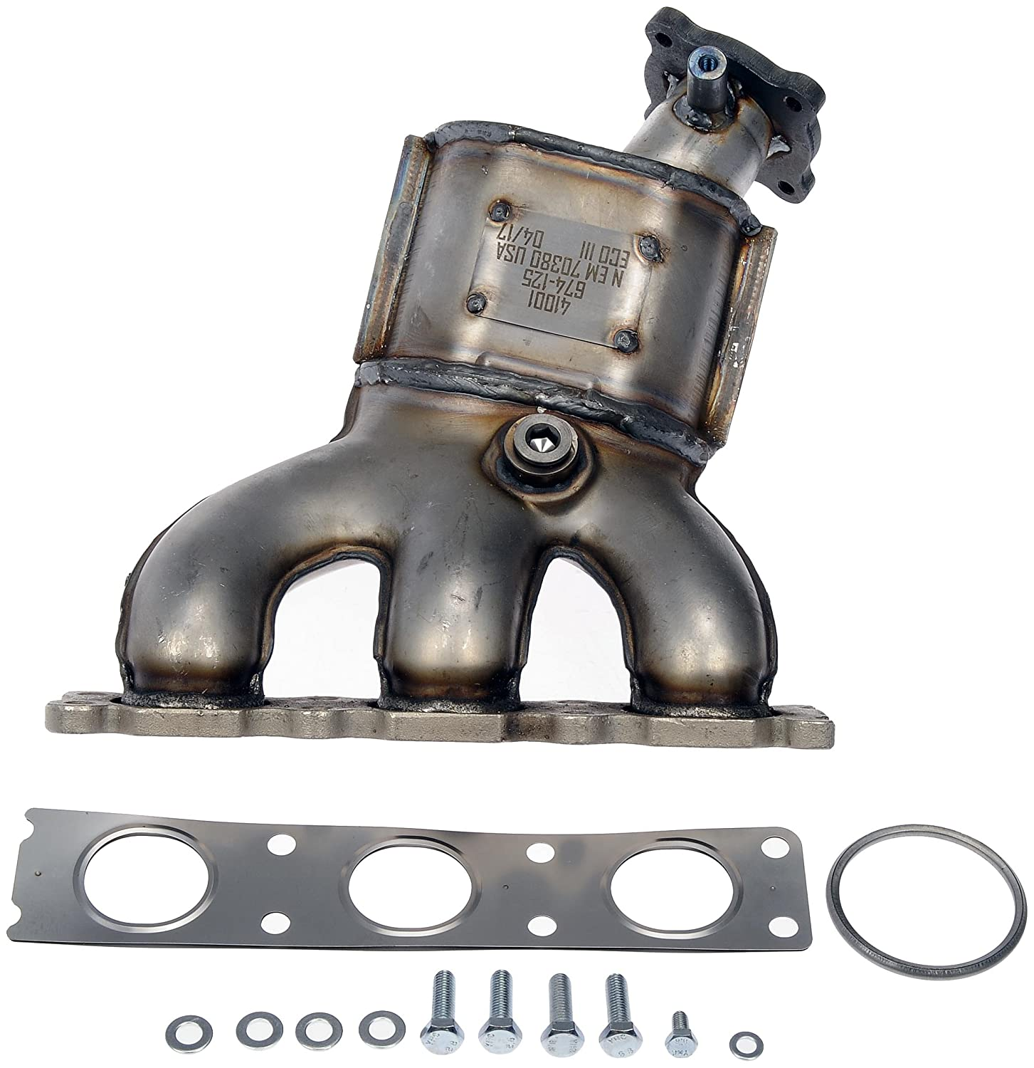 Dorman 674-974 Exhaust Manifold with Integrated  Catalytic Converter Non-CARB Compliant