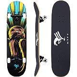 "Skateboards , MTFY Canadian Maple Wood 31"" Pro Long Boards Skateboard Double Kick Concave Cruiser Skateboards"