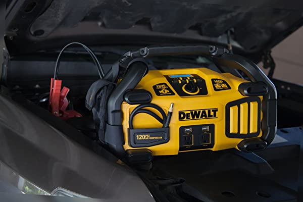 2800 Peak Amp jump Dewalt DXAEPS2 has plenty of juice.