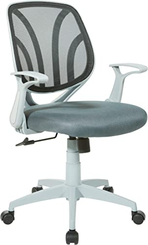 Office Star Padded Mesh Seat and Back Task Chair