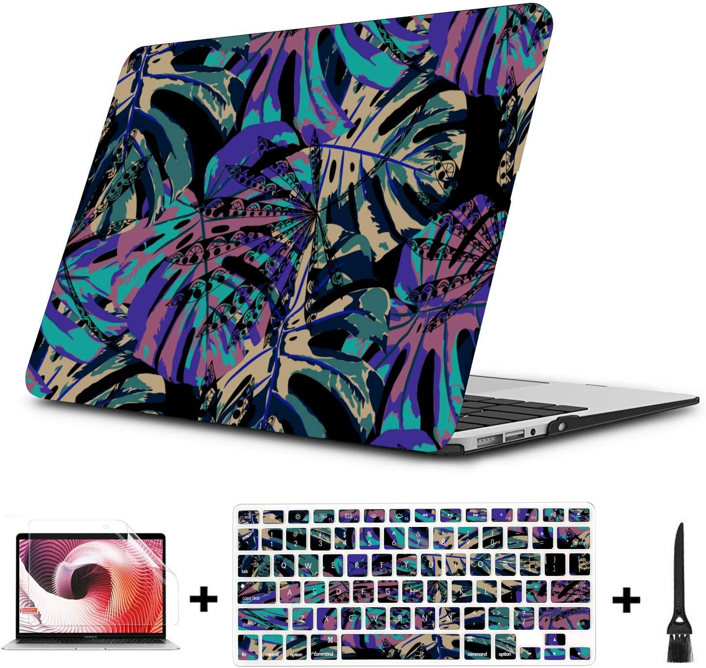 Mac Pro Case Summer Retro Sweet Sour Orange Tree Plastic Hard Shell Compatible Mac Air 11 Pro 13 15 Laptop Cover Protection for MacBook 2016-2019 Version