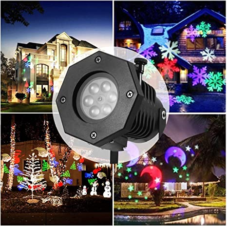 LED Halloween paisaje proyector, lámpara impermeable ...