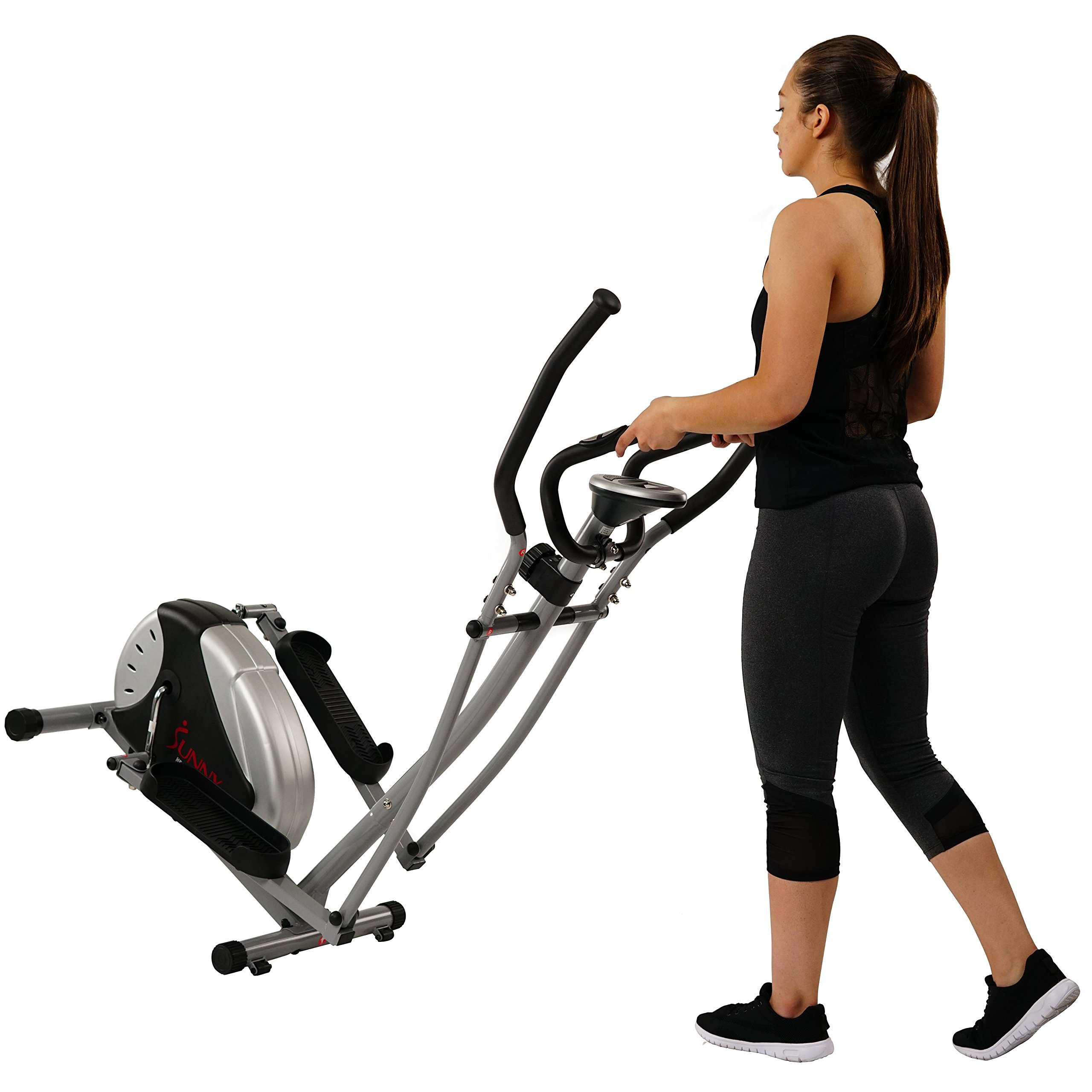 Magnetic Elliptical Machine Trainer by Sunny Health & Fitness - SF-E905 by Sunny Health & Fitness (Image #9)