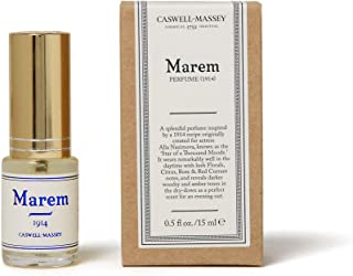 product image for Caswell-Massey Marem Womens Perfume – A Lush Floral Fragrance With Touches of Citrus and Amber – .5 Ounces