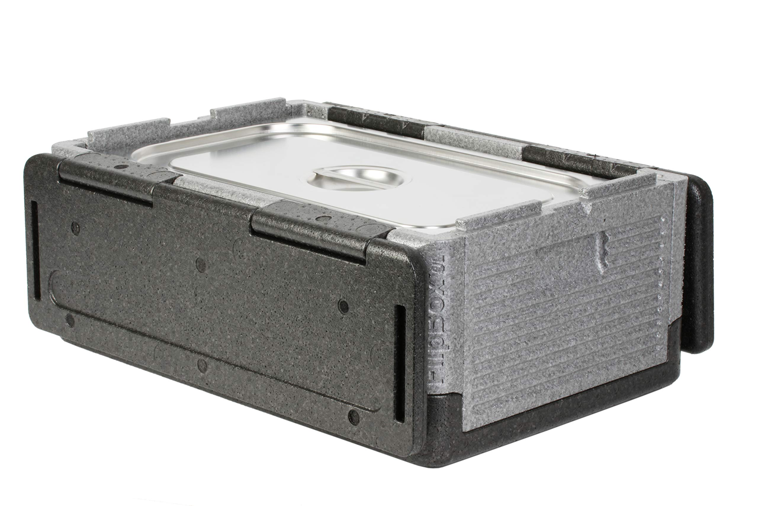 Flip-Box XL Insulation Box - Fits 60 Cans, Collapsible Iceless Cooler Perfect for Tailgating, Picnics, and Beach Trips