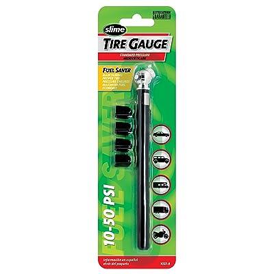 Slime 1023-A Pencil Tire Gauge, 10-50 PSI: Automotive