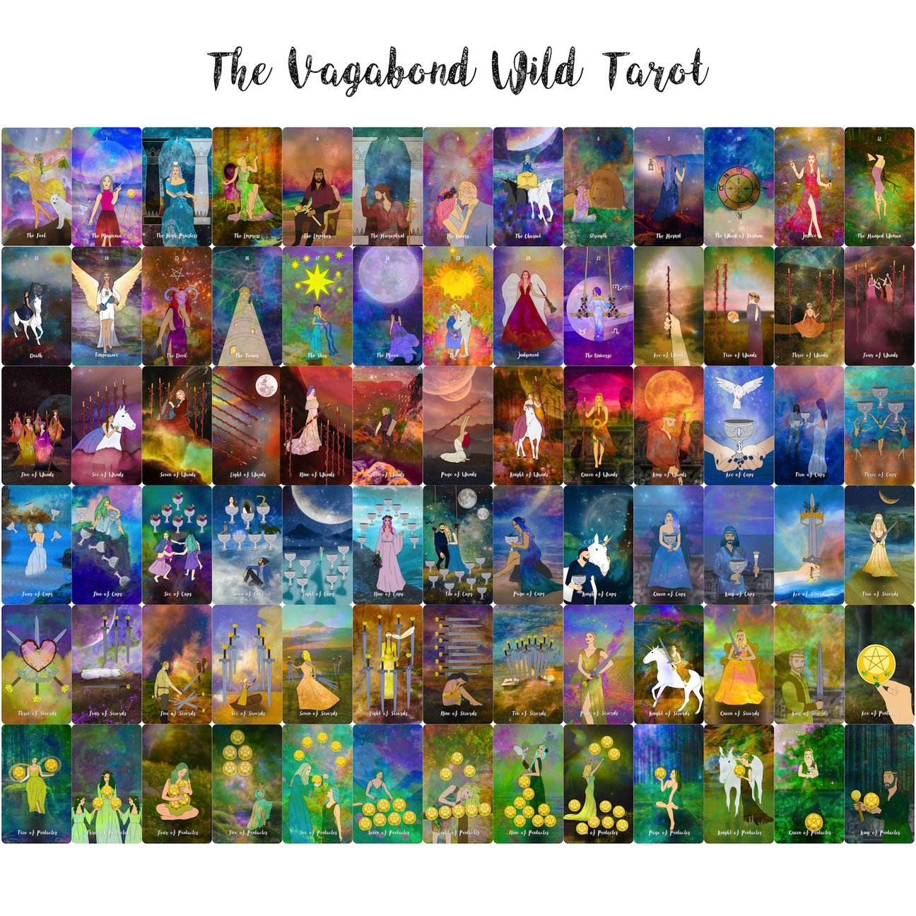 The Vagabond Wild Tarot