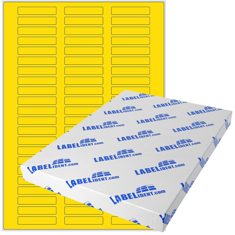 Labelident Etiketten Etiketten Etiketten - 50 x 10 mm, rechteckig - Gewebe (Nylon) weiß, matt, permanent haftend, 660 Aufkleber, DIN A4 Bogen, 10 Blatt B07BDMXZZP    | Louis, ausführlich  a7712e