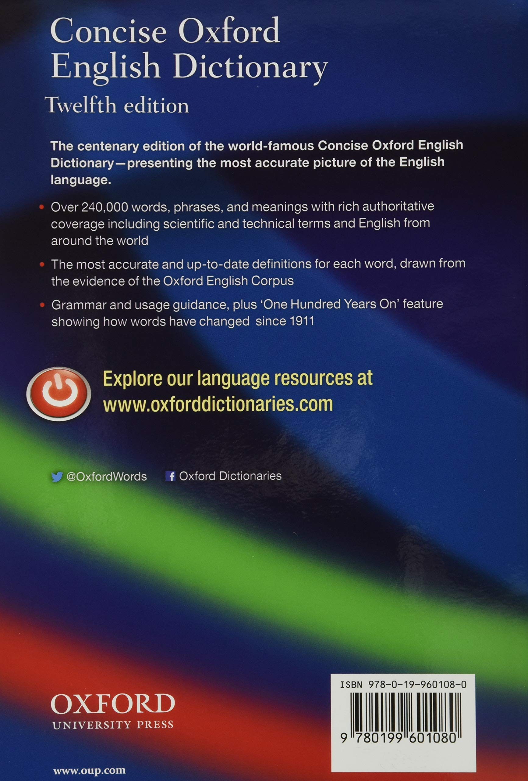 concise oxford english dictionary 20th edition pdf