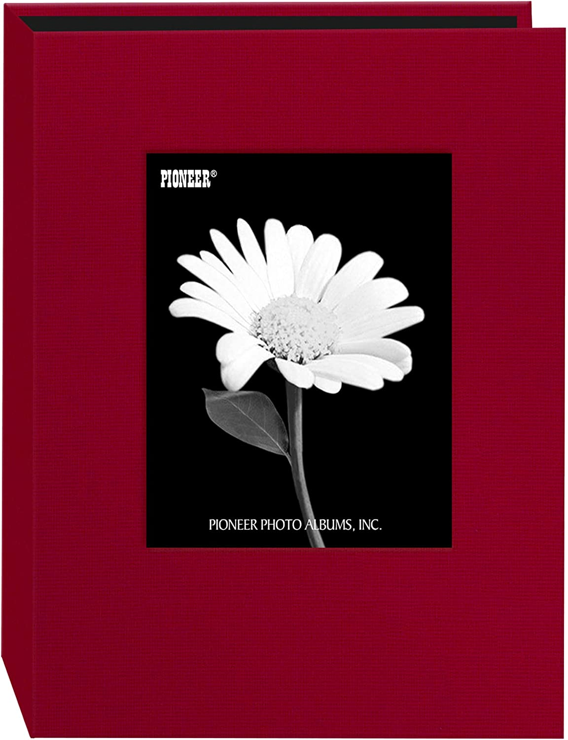 Pioneer Photo 24-Pocket Frame Cover Album for 5 by 7-Inch Prints, Apple Red Fabric