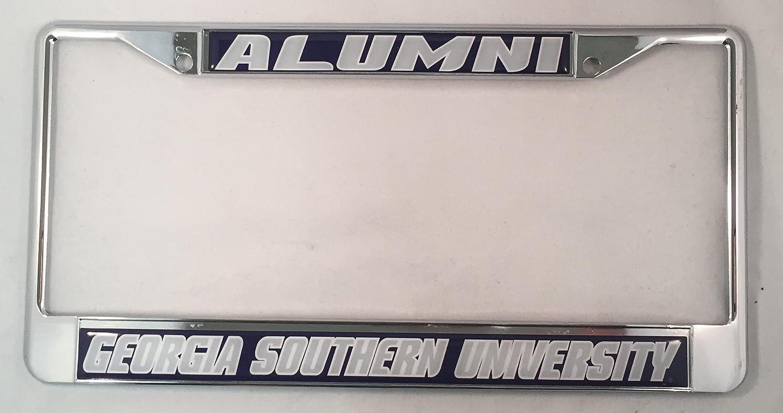 Amazon.com: Georgia Southern University Alumni License Plate Frame ...