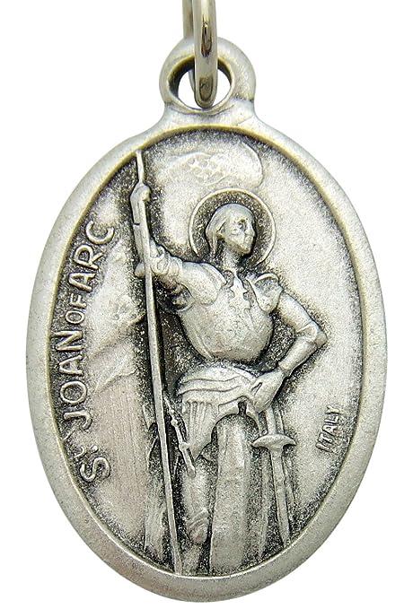 Amazon saint joan of arc pendant medal 34 catholic gift home saint joan of arc pendant medal 34quot catholic gift aloadofball Gallery