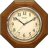 Chaney 46101A1 12 inch Octagon Wood Clock