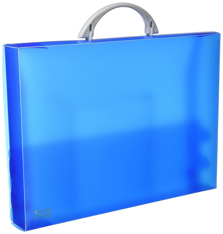 Grafoplas 30100530–Valigetta, colore: blu Grafoplás del Noroeste S.A.