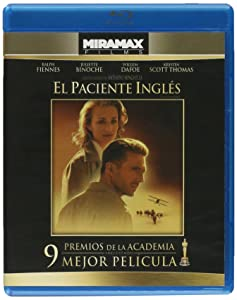 The English Patient - El paciente ingles Blu-ray (Ralph Fiennes) Mexico Import Region A