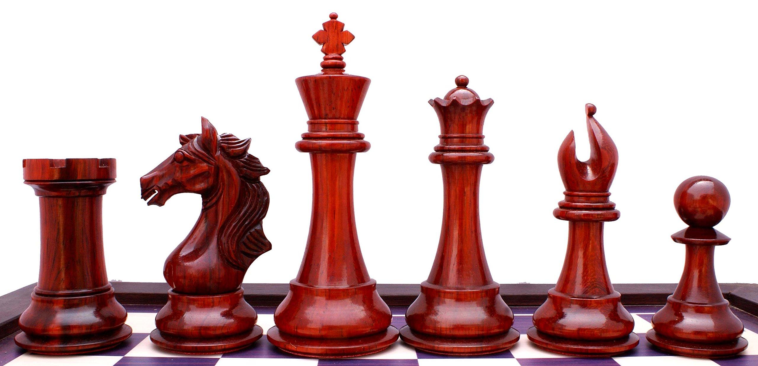 Elite Series Premium Staunton 4'' Chess Set by Staunton Empire (Image #7)