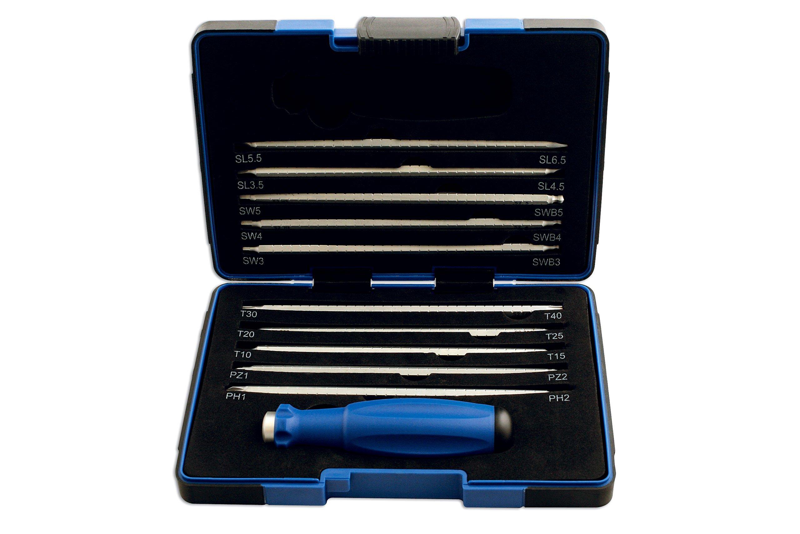 Laser - 5044 Screwdriver Set Adjustable Length Blades