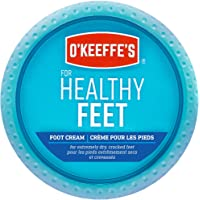 O'Keeffe's Healthy Feet Foot Cream Relieves and Repairs Extremely Dry Cracked Feet Instantly Boosts Moisture 3.2 oz / 90…