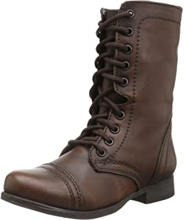 Amazon.com | Steve Madden Women's Troopa 2.0 Combat Boot | Ankle ...