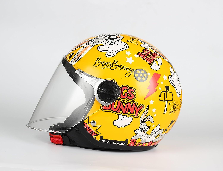 Bhr Motorradhelm Demi Jet One 801 L Bugs Bunny Auto