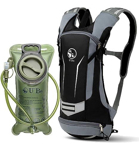 aeaaf5090a9 U`Be Hydration Pack Water Backpack - Kids Women Men Camelback - Hiking  Biking Running