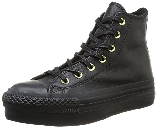 converse donna leather