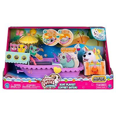 Chubby Puppies Boat Playset Collectible: Toys & Games