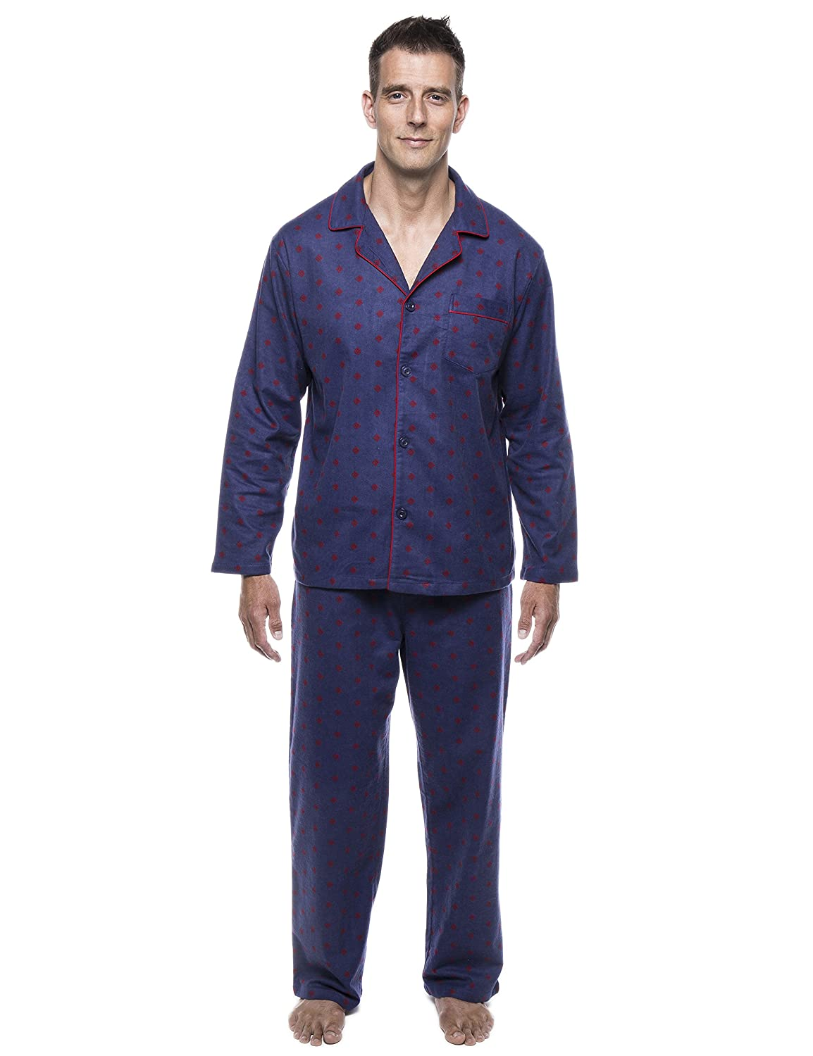 Twin Boat Men's 100% Cotton Flannel Pajama Set twb_mn_fln_pjSet