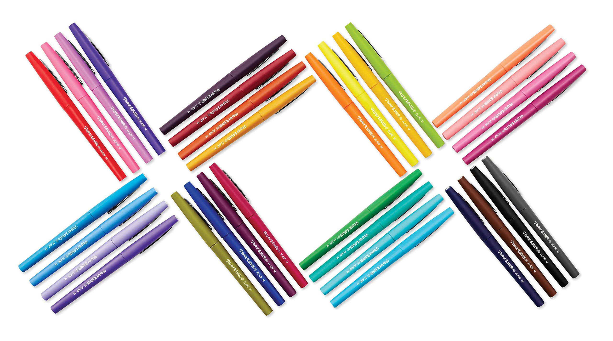 Paper Mate Flair Felt Tip Pens, Medium Point, Limited Edition Candy Pop Pack, Pack of 32 (1979425) by Paper Mate (Image #7)