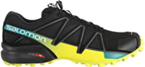 Salomon Herren Speedcross 4, Trailrunning Schuhe, schwarz (blackblackblack metallic) Größe: 46