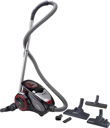 Hoover Xarion Pro XP15 Aspirador sin Bolsa, Multiciclónico, para Suelos Duros, parquet y alfombras,2 Filtros Hepa, Compacto y Ligero, 800W, 1,5L, 800 W, 1.5 litros, 75 Decibelios, Rojo: Hoover: Amazon.es: Hogar