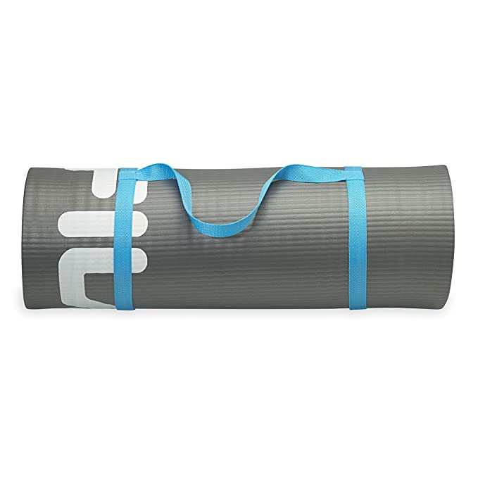 FILA Accessories Fitness & Exercise Mat Extra Thick Yoga, Pilates & Floor Exercises (10mm or 15mm Thick)