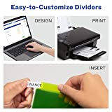 Avery Big Tab Insertable Plastic Dividers with