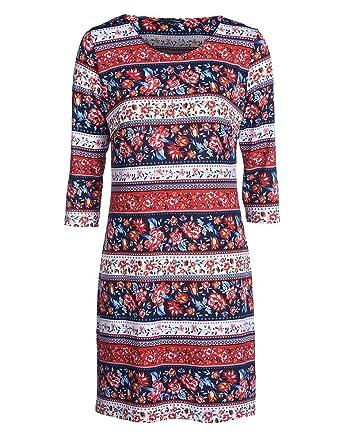 myOwn by Adler Mode Damen Kleid mit tollem Blumendruck - Fummel ...