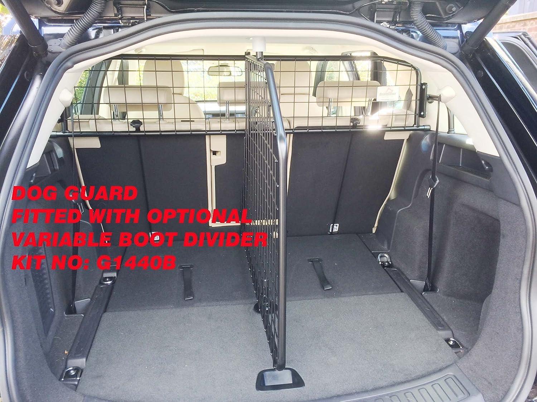 Vogue Hundegitter Kleinmetall Roadmaster DELUXE Land Rover Freelander Trenngitter mit Schnell-Spanner System Discovery Sport