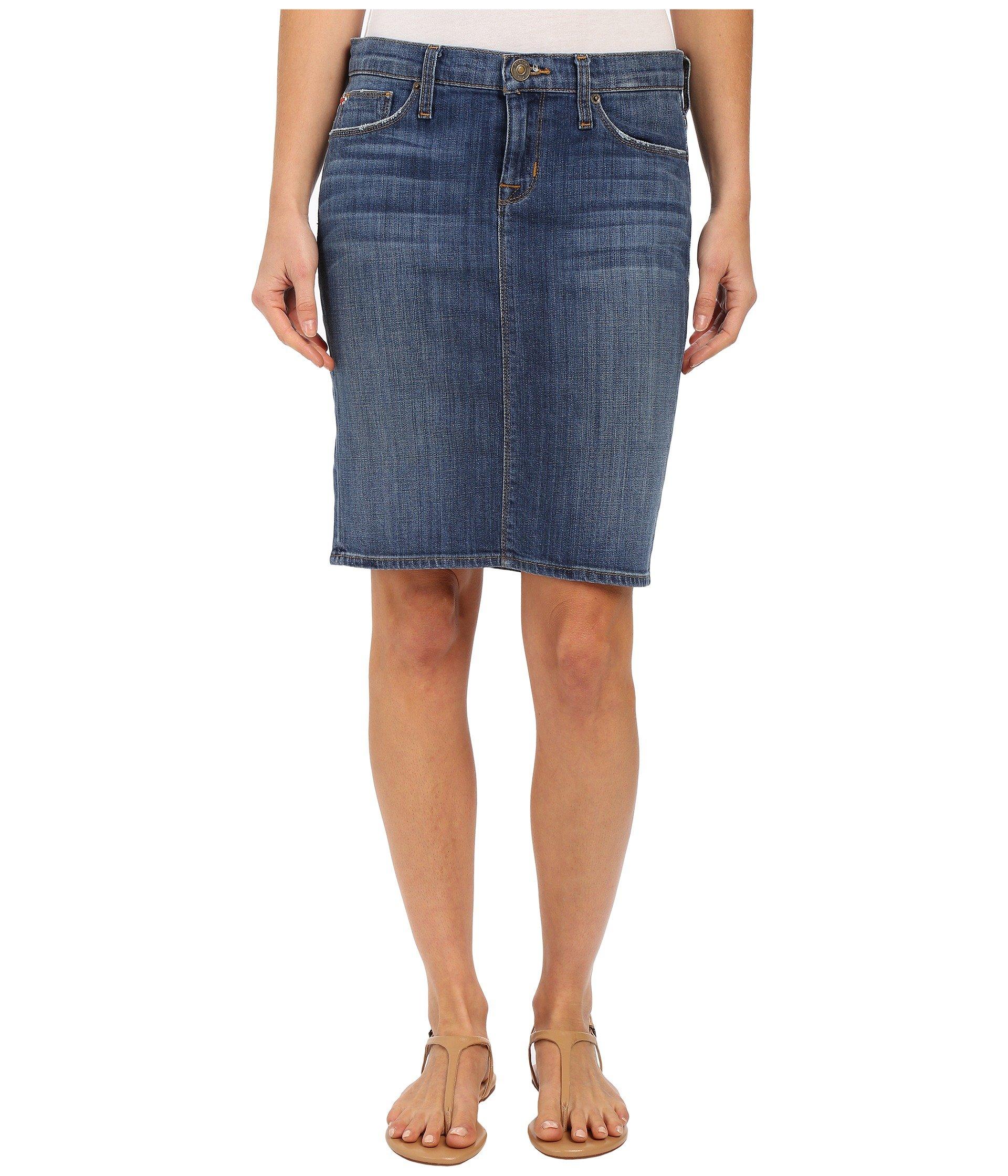 Hudson Women's Mattie Pencil Skirt In Ground Breaker Ground Breaker Skirt 25