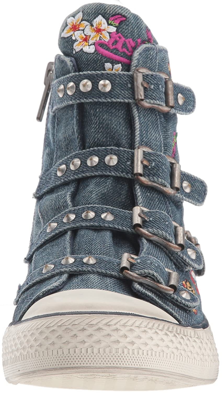 Ash Women's AS-Virtu Sneaker (10 B0757FQ3GC 40 M EU (10 Sneaker US)|Denim Blue 220048
