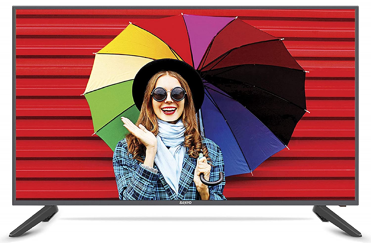 Sanyo 109 cm (43 Inches) Full HD IPS LED TV XT-43S7300F (Black) (2019 Model)
