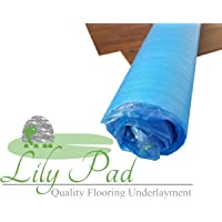Lily PAD Laminate Flooring Underlayment 3MM EPE Foam - 100 Square Feet Best Value